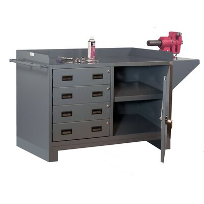 Gauge Welded 1 Door Storage Cabinet Product Image 860