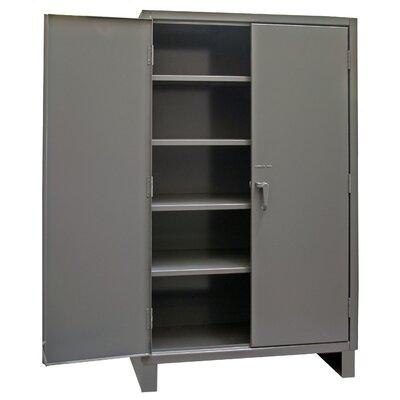 Durham Manufacturing Recessed Door Style Lockable Storage Cabinet - Size: 72