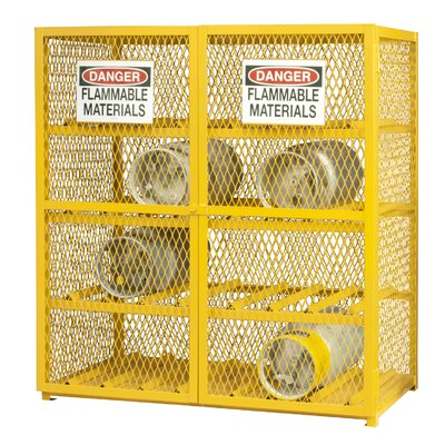 Steel and Iron Horizontal Cylinder Storage Cabinet EGCC16-50