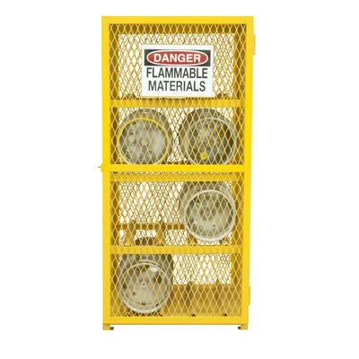 Steel and Iron Horizontal Cylinder Storage Cabinet EGCC8-50