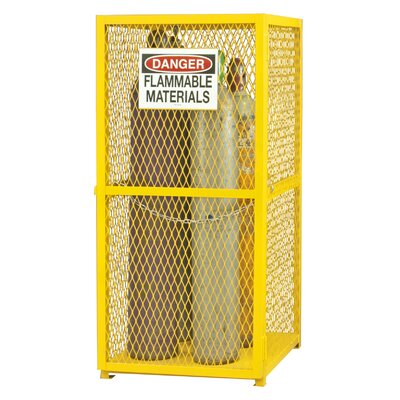 Steel and Iron Vertical Cylinder Storage Cabinet EGCVC9-50