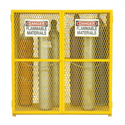 Steel and Iron Vertical Cylinder Storage Cabinet EGCVC18-50