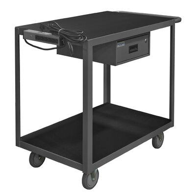 14 Gauge Steel Utility Cart RSIC-2436-2-5PU-95