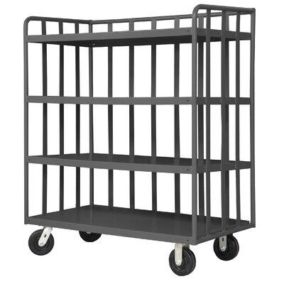 Sloped-Shelf Book Cart OPT-3624-95