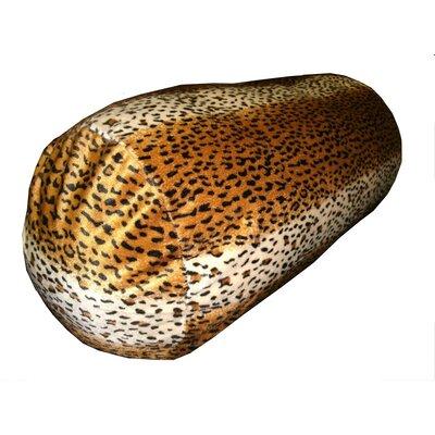 Leopard Print Bolster Pillow