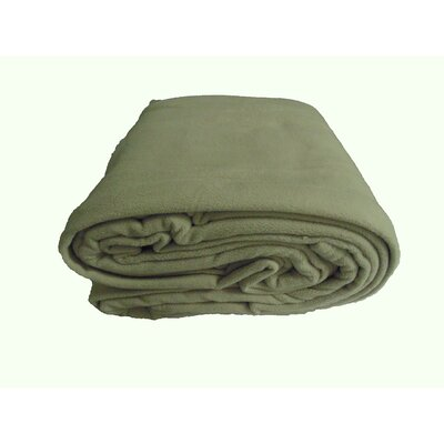 Blanket Color: Tan, Size: Twin