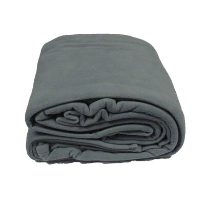 Blanket Size: Full/Queen, Color: Silver
