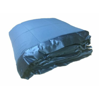 Cartee Down Alternative All Seasons Blanket with Satin Trim Size: Twin, Color: Blue