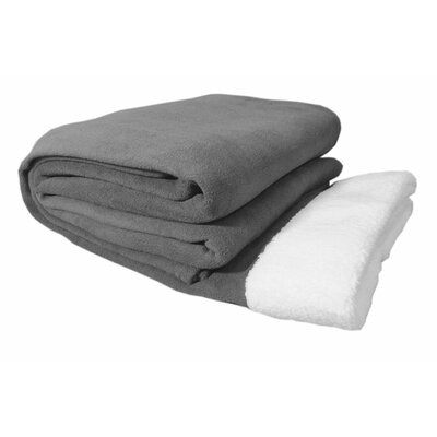 Sherpa Sheet Set Size: Queen, Color: Silver