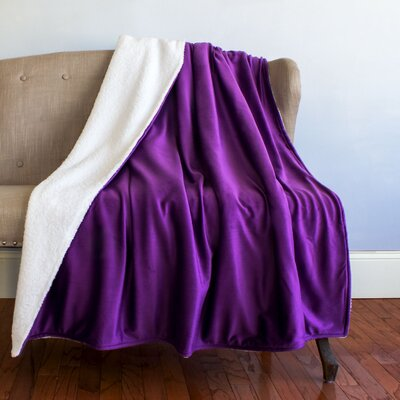 Attleboro Throw Color: Purple
