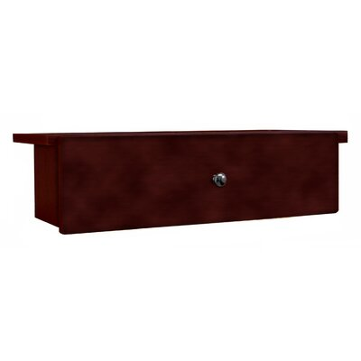 Adjustable Drop Shelf and Drawer Unit Finish: Dry Oak, Size: 7.88 H x 28.88 W x 9.63 D