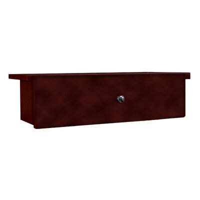 Adjustable Drop Shelf and Drawer Unit Finish: Cherry, Size: 7.88 H x 28.88 W x 9.63 D