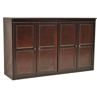 Multi Storage Unit TV Stand and Buffet Color: Cherry
