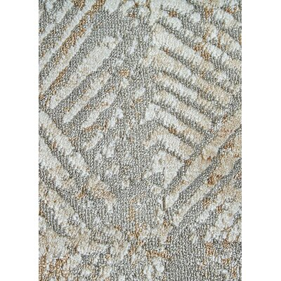 Helmer Taupe/Gray/Tan Area Rug Rug Size: 76 x 96