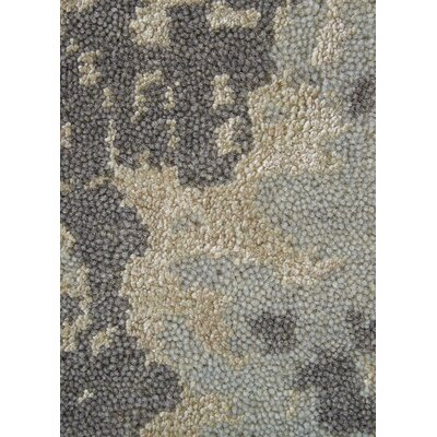 Ivar Gray/Cream Area Rug Rug Size: 410 x 710