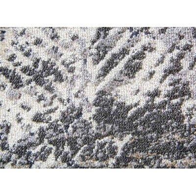 Helmer Gray/Slate/Taupe Area Rug Rug Size: 5 x 76