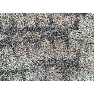 Elisha Hand-Tufted Taupe/Gray Area Rug Rug Size: Rectangle 9 x 12