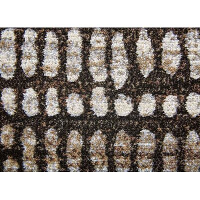 Topher Turkish Coffee/Fossil Area Rug Rug Size: 53 x 76