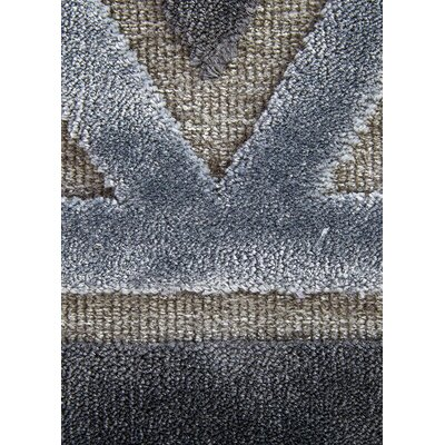Heller Pewter/Gray Area Rug Rug Size: 5 x 76