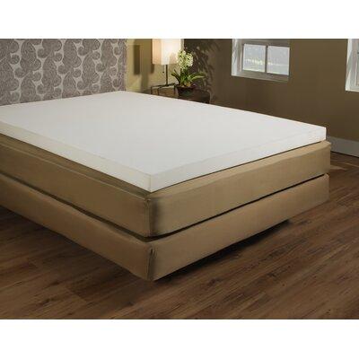 """Independent Sleep 2"""" Memory Foam Mattress Topper - Size: Twin"""