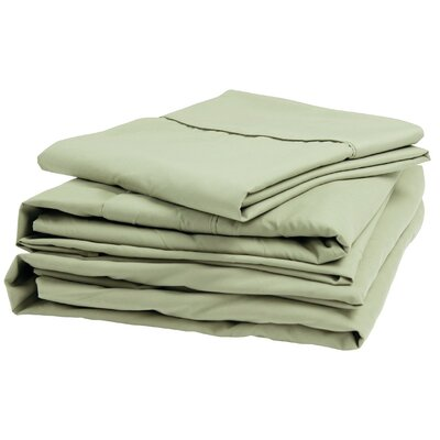 300 Thread Count 100% Cotton Sheet Set Size: Narrow King, Color: Sage
