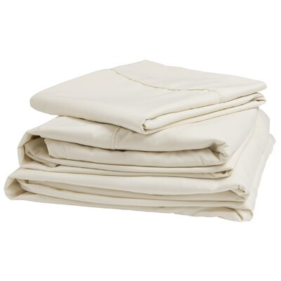 300 Thread Count 100% Cotton Sheet Set Size: Short Queen, Color: Ivory