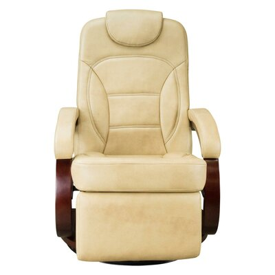 Euro Chair Recliner Upholstery: Latte