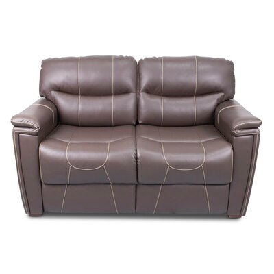 Trifold Sleeper Sofa Upholstery: Majestic Chocolate