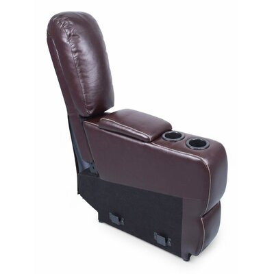 Center Recliner Upholstery: Jaleco Chocolate