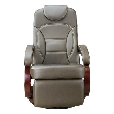 Euro Chair Recliner Upholstery: Brookwood Chestnut