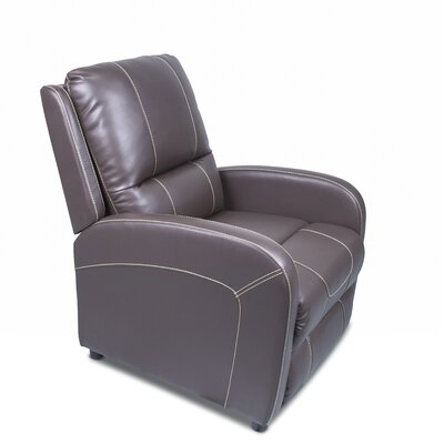 Pushback Recliner Upholstery: Majestic Chocolate