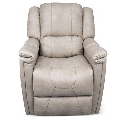 Swivel Glider Recliner Upholstery: Grantland Doeskin