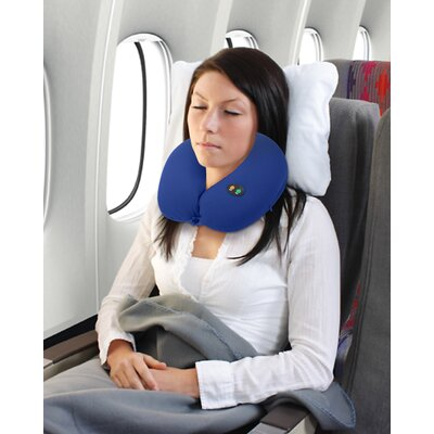 Massaging Neck Pillow Color: Blue