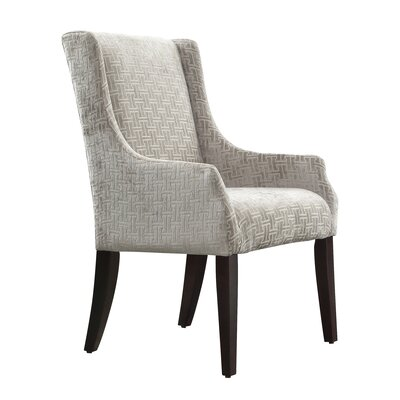 Mandala Grey Wing back Chair