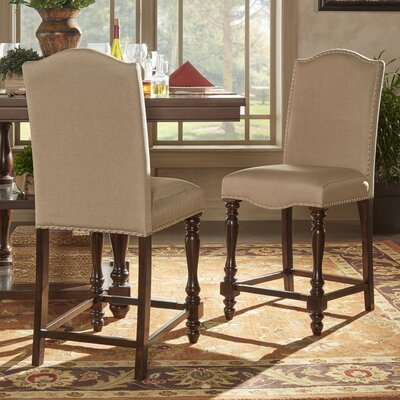 Hilliard Dinings Chair Upholstery Type - Color: Linen - Peat