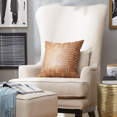 Matteo Wing back Chair and Ottoman