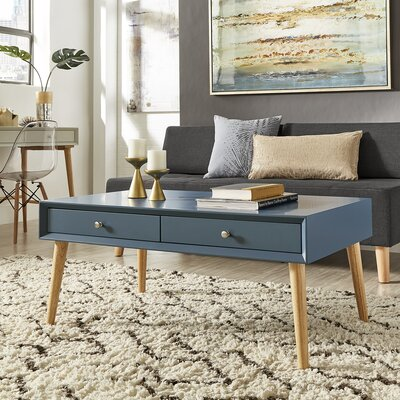 Blakeney Coffee Table Color: Steel Blue