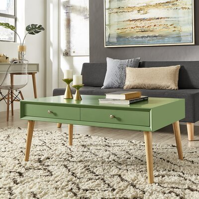 Blakeney Coffee Table Color: Meadow Green