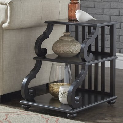 Noisettier End Table Color: Black