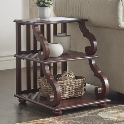 Noisettier End Table Color: Berry Red