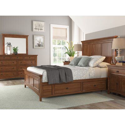 Sefton Traditional Queen Storage Panel Customizable Bedroom Set