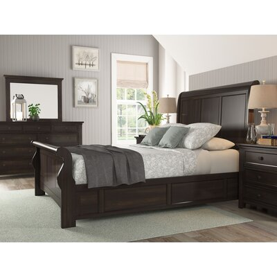 Sefton Queen Wood Sleigh Customizable Bedroom Set