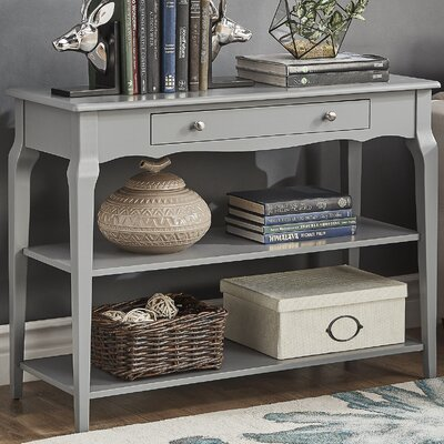 Shawnee Console Table Color: Frost Gray