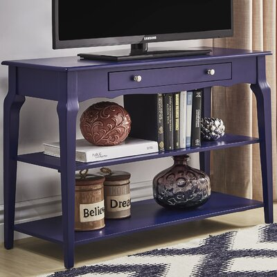 Shawnee Console Table Color: Twilght Blue