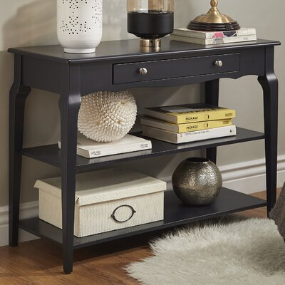Shawnee Console Table Color: Vulcan Black