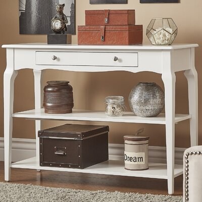 Shawnee Console Table Color: White