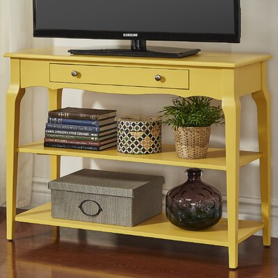 Shawnee Console Table Color: Yellow