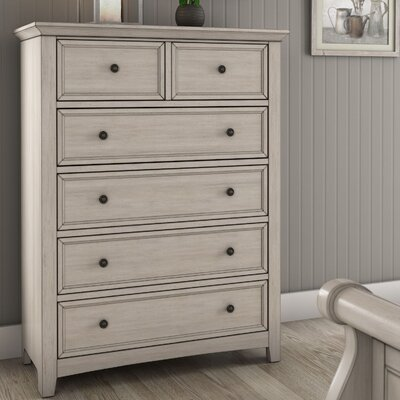 Sefton 6 Drawer Chest Color: Antique White