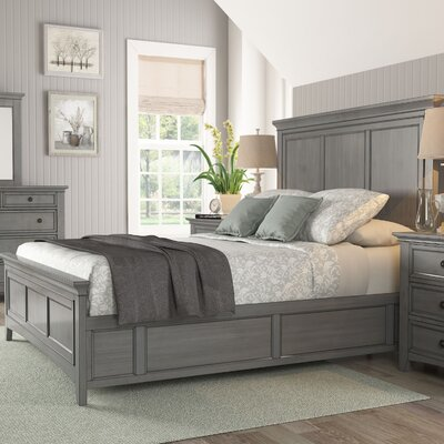 Sefton Queen Panel Bed Finish: Antique Gray