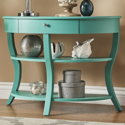 Nilsson Console Table Finish: Marine Green